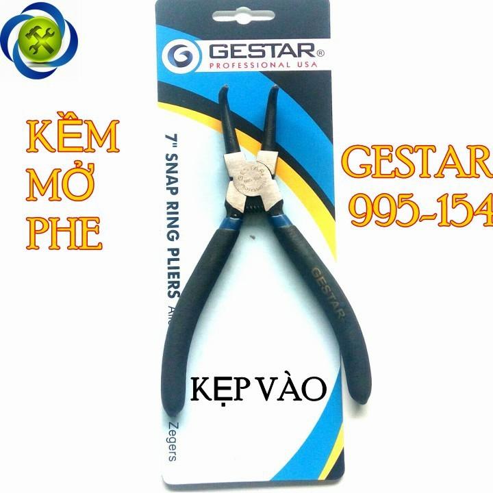 Kềm mở phe cong Gestar 995-154 kẹp vào 1