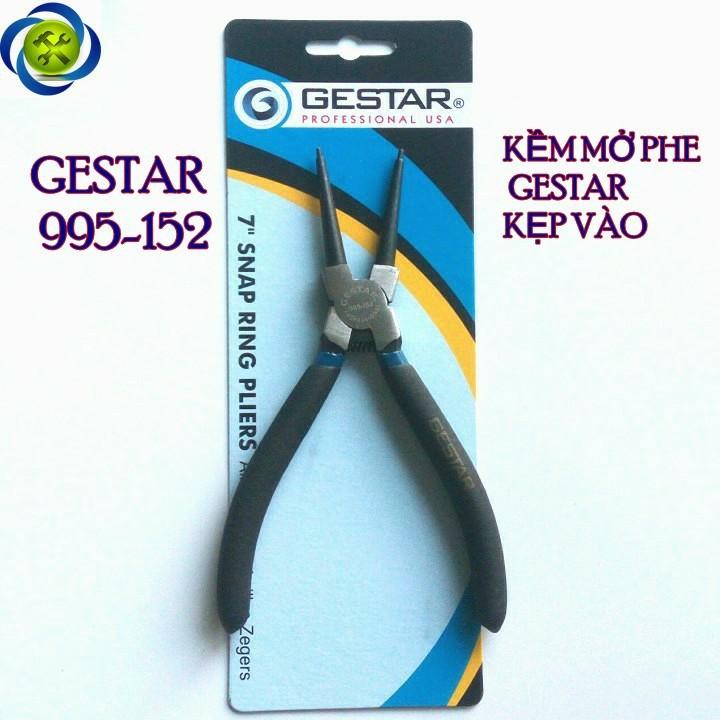 Kìm mở phe thẳng Gestar 995-152 kẹp vào 1