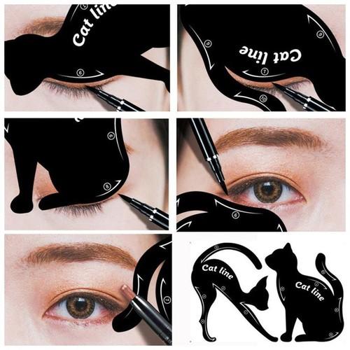 Khuôn kẻ mắt Catline, ấn tượng