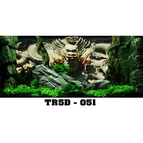 Tranh bể cá Tr5D-051 kt 140x60