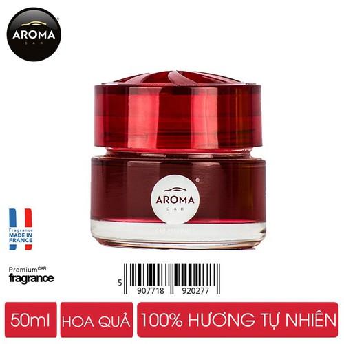 Gel nước hoa khử mùi ô tô Aroma Car 50ml - Forest Fruit - Hương thơm ngọt