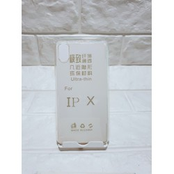 ốp lưng trong suốt  iPhone x