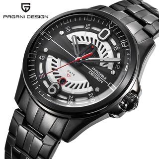 Đồng hồ nam 2 lịch dây kim loại Pagani Design máy Japan- Mã số DH1848 - Đồng hồ nam DH1848 thumbnail