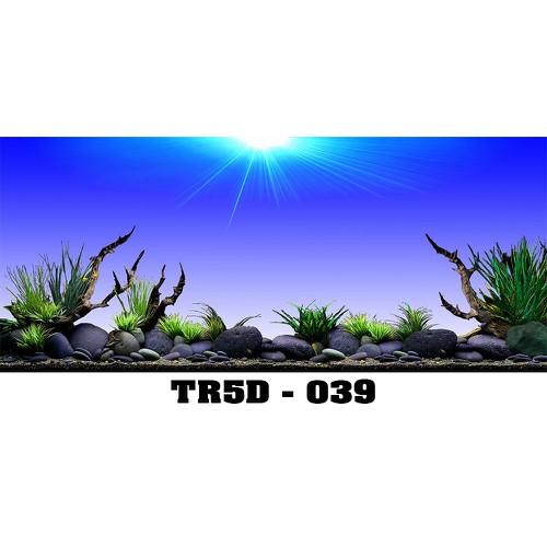 Tranh bể cá Tr5D-039 kt 120x60