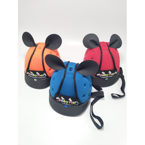Mũ nón bảo hiểm cho bé tập đi nhiều màu ngộ nghĩnh