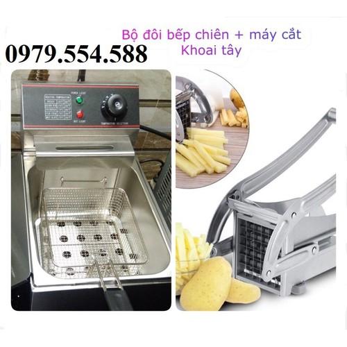 Bộ đôi bếp chiên nhúng điện - máy cắt khoai tây - 5351435 , 11701484 , 15_11701484 , 1650000 , Bo-doi-bep-chien-nhung-dien-may-cat-khoai-tay-15_11701484 , sendo.vn , Bộ đôi bếp chiên nhúng điện - máy cắt khoai tây