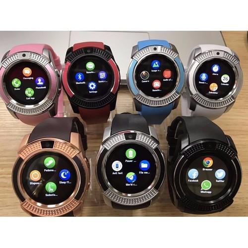 Đồng hồ thông minh smartwatch V8 - 5350941 , 11700950 , 15_11700950 , 199000 , Dong-ho-thong-minh-smartwatch-V8-15_11700950 , sendo.vn , Đồng hồ thông minh smartwatch V8