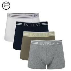 COmbo 4 Quần lót nam boxer cotton cao cấp Everest QH 68303_4 mẫu