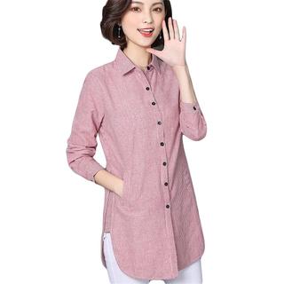 áo sơ mi nữ form dài cao cấp top98 - top98 thumbnail