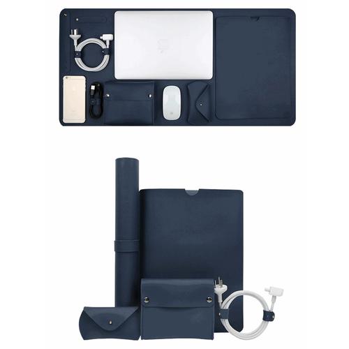 Túi đựng macbook da cao cấp 5 in 1 chất liệu pu chống nước - best seller tony