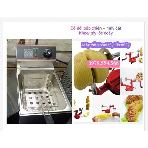 Bộ đôi bếp chiên nhúng điện máy cắt khoai tây lốc xoáy - 10865996 , 11701542 , 15_11701542 , 1500000 , Bo-doi-bep-chien-nhung-dien-may-cat-khoai-tay-loc-xoay-15_11701542 , sendo.vn , Bộ đôi bếp chiên nhúng điện máy cắt khoai tây lốc xoáy