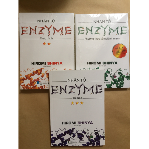 Combo 3 quyển nhân tố ENZYME