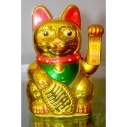 Mèo Thần Tài vẫy khách cao 17cm