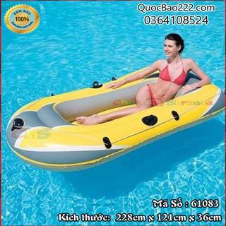 Thuyền hơi Bestway có tay chèo bơm chân 228cm x 121cm x 36cm - 61083 - 61083kh1 thumbnail