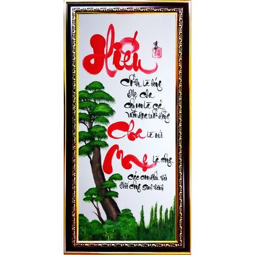 Tranh thư pháp vẽ tay chữ Hiếu - 5352788 , 11703566 , 15_11703566 , 429000 , Tranh-thu-phap-ve-tay-chu-Hieu-15_11703566 , sendo.vn , Tranh thư pháp vẽ tay chữ Hiếu