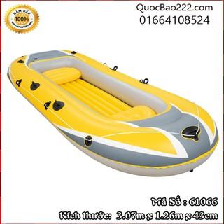 Thuyền Bơm Hơi 3 người Màu Vàng 3.07m x 1.26m x 43cm - Bestway 61066 - 61066kh thumbnail