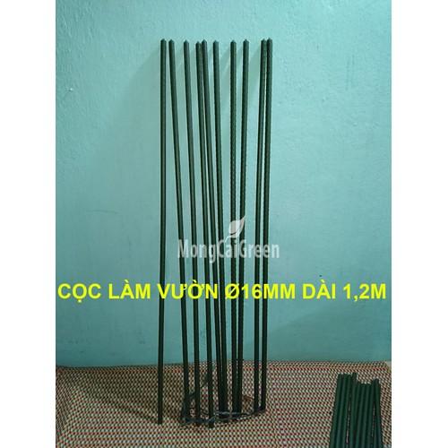 Bó 10 Cọc Ø 16mm x 120cm ống thép bọc nhựa - Cọc làm vườn - 5356289 , 11710844 , 15_11710844 , 160000 , Bo-10-Coc-16mm-x-120cm-ong-thep-boc-nhua-Coc-lam-vuon-15_11710844 , sendo.vn , Bó 10 Cọc Ø 16mm x 120cm ống thép bọc nhựa - Cọc làm vườn