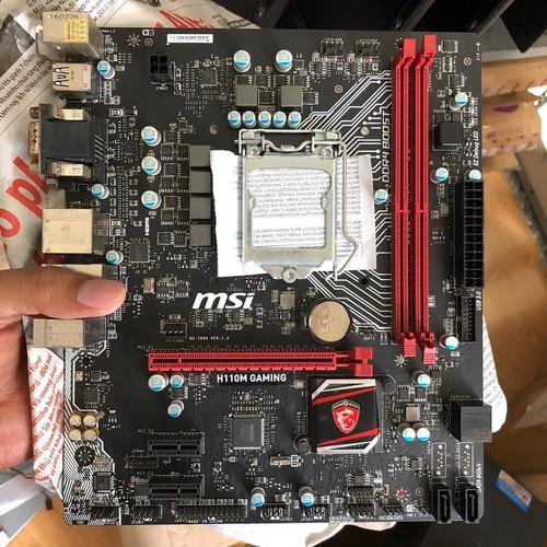 main màn hình, mainboard MSI H110 Gaming socket 1151 thế hệ 6 - 7 còn Bảo hành 8-2019