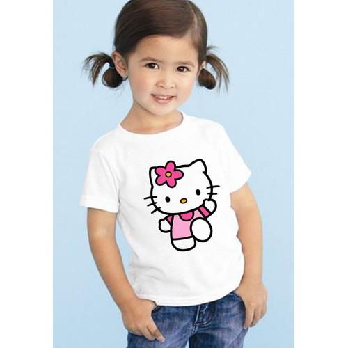 Áo thun bé gái in hình Kitty đáng yêu - 5350892 , 11700849 , 15_11700849 , 45000 , Ao-thun-be-gai-in-hinh-Kitty-dang-yeu-15_11700849 , sendo.vn , Áo thun bé gái in hình Kitty đáng yêu