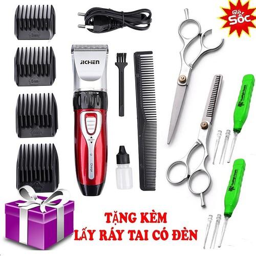 [ BH 12 THÁNG +  HỖ TRỢ 40K SHIP ] Tông đơ cắt tóc trẻ em 0817 tặng thêm bộ kéo cắt tỉa và lấy ráy tai có đèn soi an toàn cho bé - 11160300 , 11719832 , 15_11719832 , 250000 , -BH-12-THANG-HO-TRO-40K-SHIP-Tong-do-cat-toc-tre-em-0817-tang-them-bo-keo-cat-tia-va-lay-ray-tai-co-den-soi-an-toan-cho-be-15_11719832 , sendo.vn , [ BH 12 THÁNG +  HỖ TRỢ 40K SHIP ] Tông đơ cắt tóc trẻ em