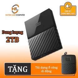 Ổ cứng gắn ngoài 2TB WD My Passport 2.5inch chính hãng - Ánh Minh Cường phân phối