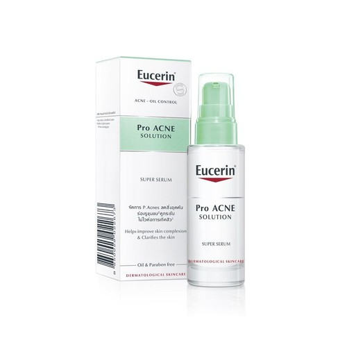 Eucerin Pro ACNE Super Serum, Tinh Chất Tái Tạo Da Mụn 30ml