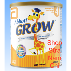 Sữa Bột Abbott Grow 4 900g Cho Trẻ Từ 2-6 Tuổi