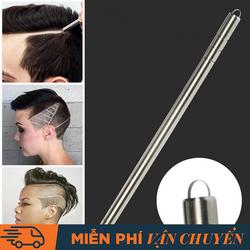 Bộ cạo tóc dạng bút, nhíp nhổ tóc và 10 lưỡi thay thế dùng trong salon