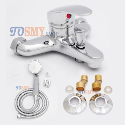 Bộ vòi sen tắm nóng lạnh CSN04- tay dây sen tăng áp