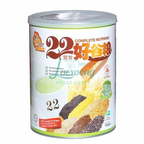 Bột ngũ cốc dinh dưỡng 22 Complete Nutrimix Wheat Grass 750g   sữa - 5364302 , 11720864 , 15_11720864 , 550000 , Bot-ngu-coc-dinh-duong-22-Complete-Nutrimix-Wheat-Grass-750g-sua-15_11720864 , sendo.vn , Bột ngũ cốc dinh dưỡng 22 Complete Nutrimix Wheat Grass 750g   sữa