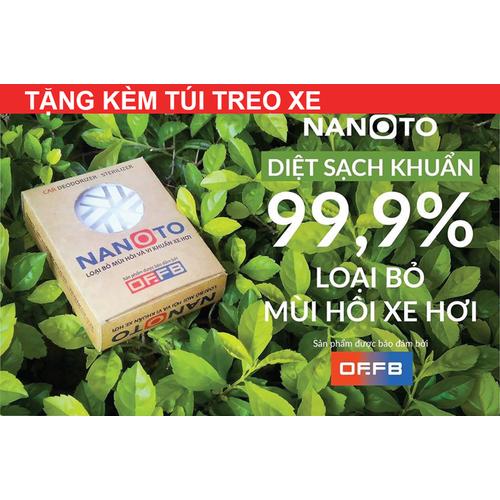 Viên khử mùi Nanoto - Hương bạc Hà