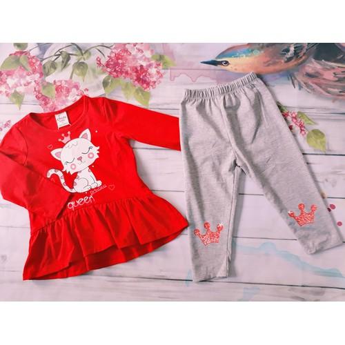 Chippo - Bộ quần áo thu đông Mèo dễ thương cho bé gái 1-7y - 5358273 , 11713682 , 15_11713682 , 135000 , Chippo-Bo-quan-ao-thu-dong-Meo-de-thuong-cho-be-gai-1-7y-15_11713682 , sendo.vn , Chippo - Bộ quần áo thu đông Mèo dễ thương cho bé gái 1-7y