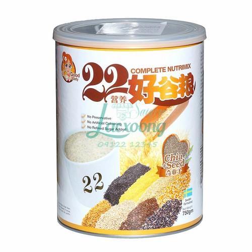 Bột ngũ cốc dinh dưỡng 22 Complete Nutrimix Chia Seed 750g   sữa - 6221371 , 12783766 , 15_12783766 , 550000 , Bot-ngu-coc-dinh-duong-22-Complete-Nutrimix-Chia-Seed-750g-sua-15_12783766 , sendo.vn , Bột ngũ cốc dinh dưỡng 22 Complete Nutrimix Chia Seed 750g   sữa