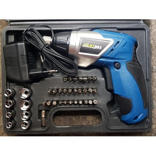 Bộ máy khoan cầm tay sạc pin 45 chi tiết Joust max JST24806L - 5370169 , 11727758 , 15_11727758 , 450000 , Bo-may-khoan-cam-tay-sac-pin-45-chi-tiet-Joust-max-JST24806L-15_11727758 , sendo.vn , Bộ máy khoan cầm tay sạc pin 45 chi tiết Joust max JST24806L