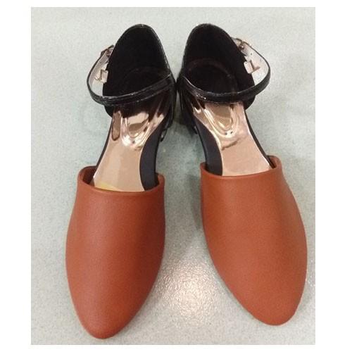 Giày sandal bít mũi màu nâu - 5367077 , 11723786 , 15_11723786 , 100000 , Giay-sandal-bit-mui-mau-nau-15_11723786 , sendo.vn , Giày sandal bít mũi màu nâu
