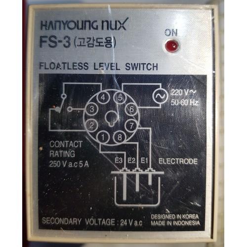 Rơ le điều khiển mực nước Hanyoung Nux FS-3
