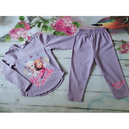 Chippo - Bộ quần áo dài thu hình Elsa cho bé gái 1-7y