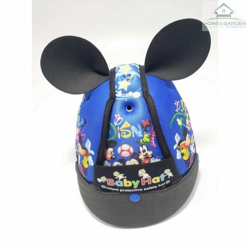 Mũ bảo hiểm cho bé - Hình Chuột Mickey