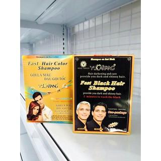 Dầu gội nhuộm đen tóc 1 hộp 10 gói - FFF thumbnail