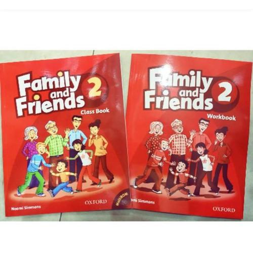 Family and friends tập 2 kèm CD
