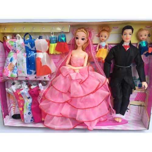 Hộp búp bê cô dâu barbie và chú rể KEN - 5430685 , 11801500 , 15_11801500 , 350000 , Hop-bup-be-co-dau-barbie-va-chu-re-KEN-15_11801500 , sendo.vn , Hộp búp bê cô dâu barbie và chú rể KEN