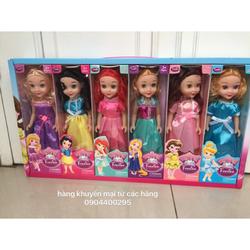 Hộp 6 nàng búp bê công chúa Disney xinh đẹp