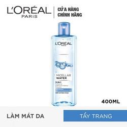 Nước Tẩy Trang 3 In 1 LOreal Paris Micellar Water 400ml - Tươi Mát
