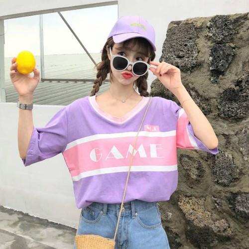 áo phông cổ v game Mã: AX3649