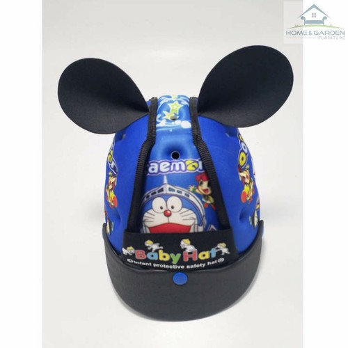 Mũ bảo hiểm cho bé - Hình Đô rê mon
