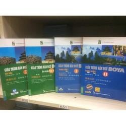 Combo 4 cuốn Giáo trình hán ngữ Boya Sơ cấp + trung cấp