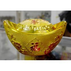 Thỏi vàng đặt gian thờ Thần Tài-Thổ Địa cao 8cm