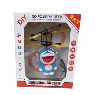 Máy bay cảm ứng Doremon có remote - Máy bay cảm ứng có remote thumbnail
