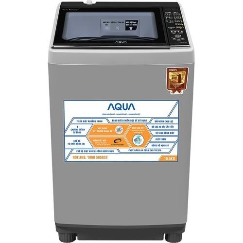 Máy giặt AQW-D900BT-S Aqua 9,0Kg - 5381312 , 11742590 , 15_11742590 , 7390000 , May-giat-AQW-D900BT-S-Aqua-90Kg-15_11742590 , sendo.vn , Máy giặt AQW-D900BT-S Aqua 9,0Kg