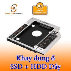 Caddy Bay SATA 3.0 12.7mm Dày gắn thêm ổ cứng cho Laptop